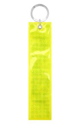 Мужской брелок PALM ANGELS желтого цвета, арт. PMNF002S195750546200 | Фото 1