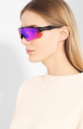 Солнцезащитные очки Oakley разноцветные | Фото №2