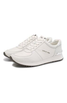Кожаные кроссовки Alison  | Фото №1