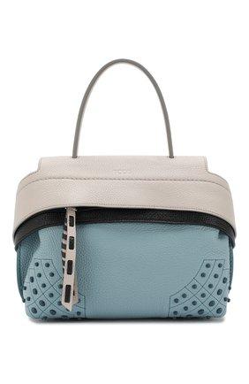 Женская сумка wave mini TOD'S голубого цвета, арт. XBWAMSWZ101MCT | Фото 1