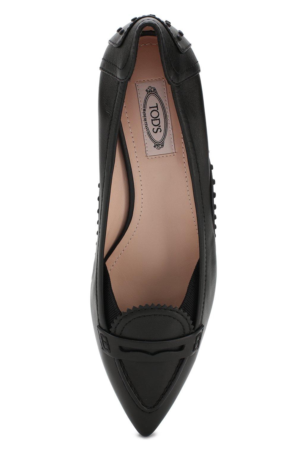 Кожаные туфли Alessandro Dell'Acqua x Tod's | Фото №5