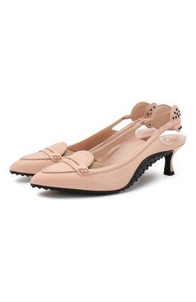 Кожаные туфли Alessandro Dell'Acqua x Tod's | Фото №1