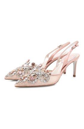 Кружевные туфли Veneziana | Фото №1