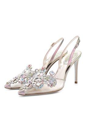 Комбинированные туфли Veneziana | Фото №1
