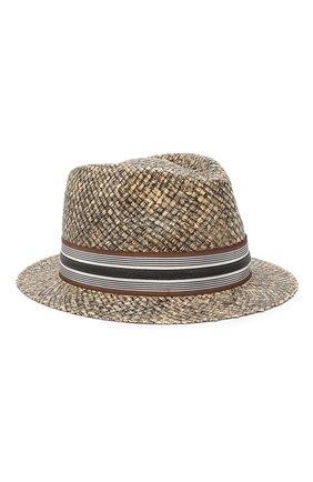 Шляпа-федора из рафии | Фото №1