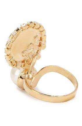 Кольцо с отделкой кристаллами Swarovski | Фото №2