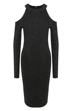 Платье с открытыми плечами   Фото №1