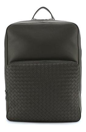 Кожаный рюкзак с плетением intrecciato | Фото №1