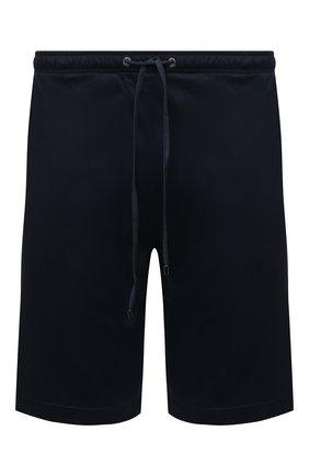 Мужские шорты из смеси хлопка и вискоза ZIMMERLI темно-синего цвета, арт. 8520-21093 | Фото 1