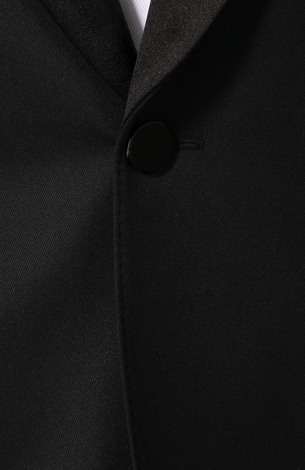 Шерстяной смокинг с шелковыми лацканами | Фото №6