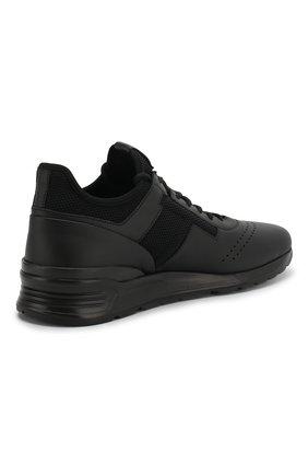 Кожаные кроссовки | Фото №4