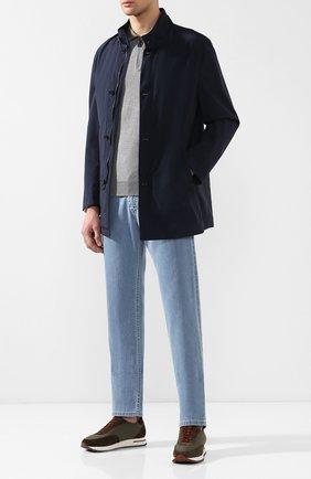 Мужские джинсы прямого кроя BRIONI голубого цвета, арт. SPNB0L/P8D22/C0RVARA | Фото 2