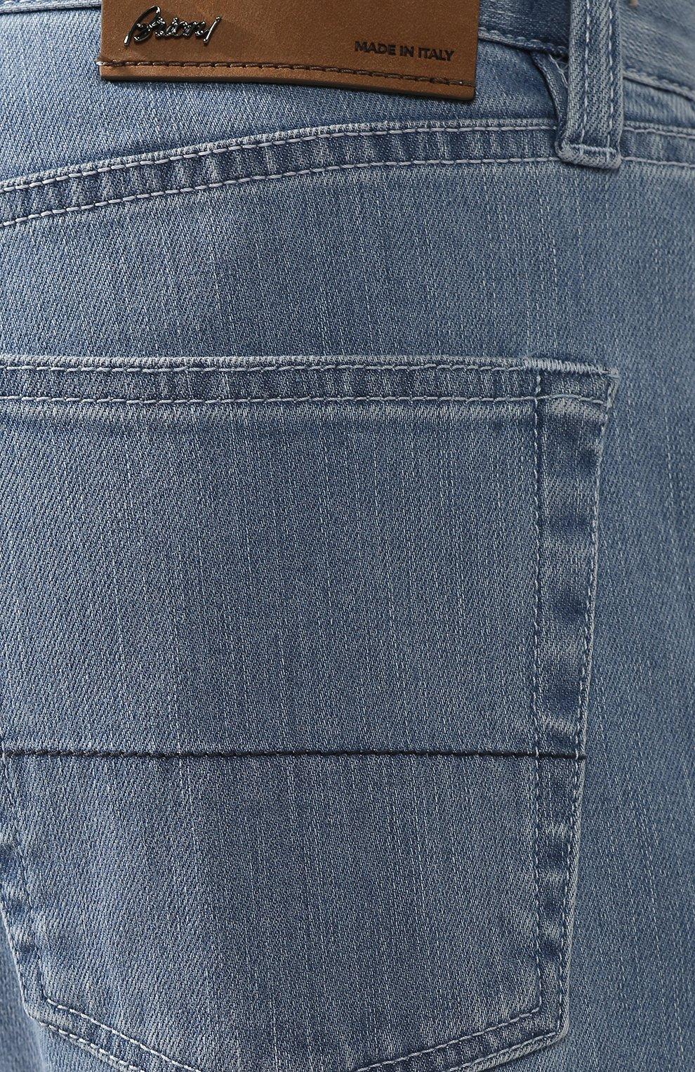 Мужские джинсы прямого кроя BRIONI голубого цвета, арт. SPNB0L/P8D22/C0RVARA | Фото 5
