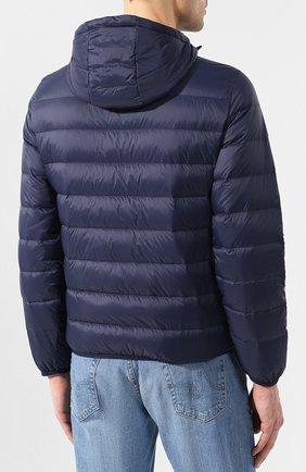 Мужская пуховая куртка EMPORIO ARMANI темно-синего цвета, арт. 8N1B51/1NJMZ   Фото 4