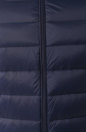 Мужская пуховая куртка EMPORIO ARMANI темно-синего цвета, арт. 8N1B51/1NJMZ   Фото 5