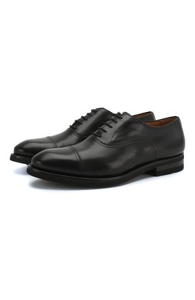Мужские кожаные оксфорды MAGNANNI черного цвета, арт. 21252/B0LTIARCADE | Фото 1