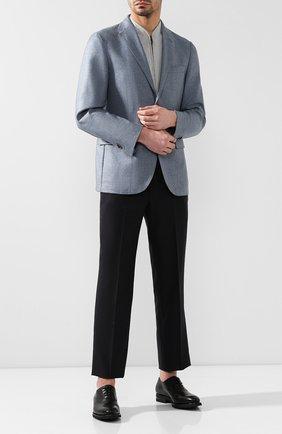 Мужские кожаные оксфорды MAGNANNI черного цвета, арт. 21252/B0LTIARCADE | Фото 2