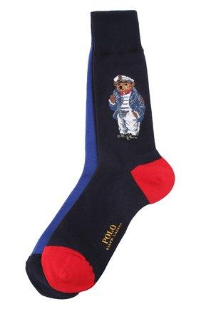 Комплект из двух хлопковых носков | Фото №1