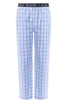 Мужские хлопковые домашние брюки POLO RALPH LAUREN синего цвета, арт. 714730610 | Фото 1