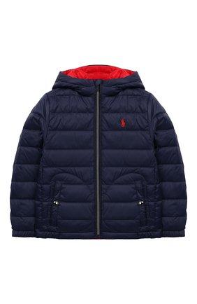 Двусторонняя куртка с капюшоном | Фото №1