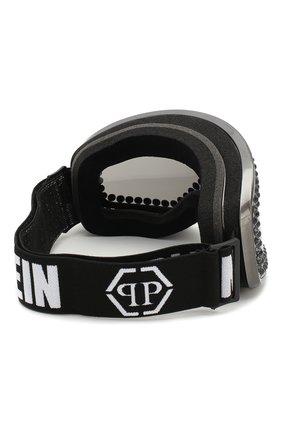 Горнолыжная маска Philipp Plein черные | Фото №4