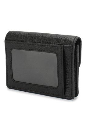 Женские кожаный кошелек SEE BY CHLOÉ черного цвета, арт. CHS18UP782388 | Фото 2