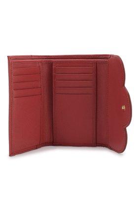 Женские кожаный кошелек SEE BY CHLOÉ розового цвета, арт. CHS18UP784388 | Фото 3