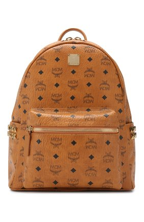Женский рюкзак stark medium MCM коричневого цвета, арт. MMK 7AVE99 | Фото 1