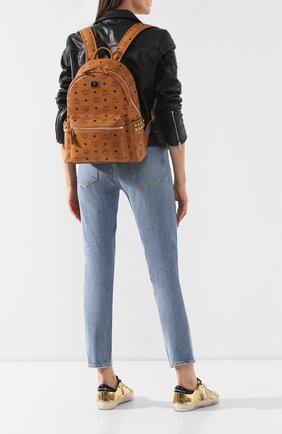 Женский рюкзак stark medium MCM коричневого цвета, арт. MMK 7AVE99 | Фото 2