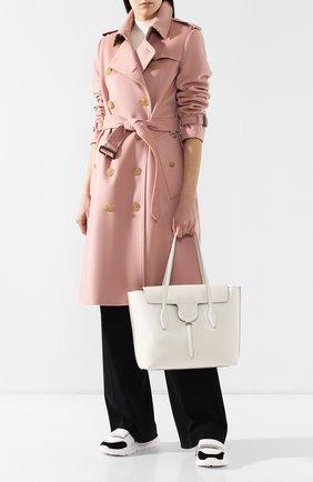 Женская сумка new joy TOD'S белого цвета, арт. XBWANXA0300FFX   Фото 2