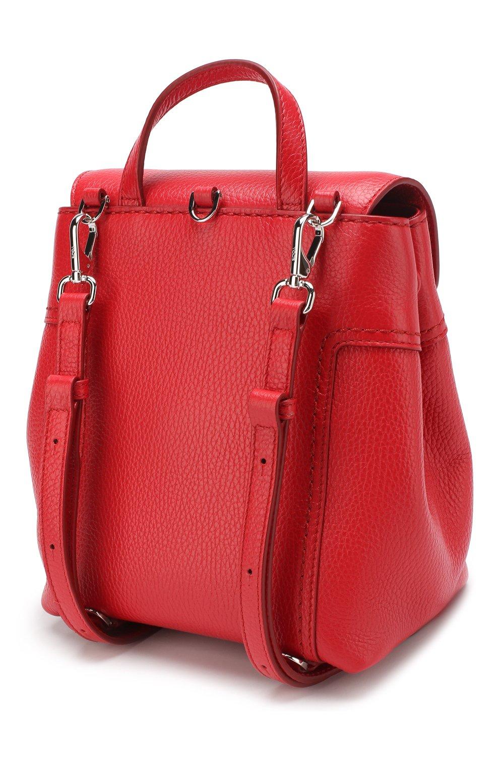Рюкзак Double T Tod's красный | Фото №3