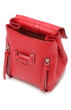 Рюкзак Double T Tod's красный | Фото №4