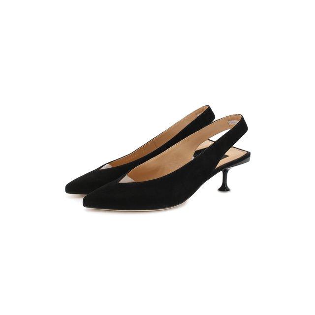 Замшевые туфли Milano Sergio Rossi
