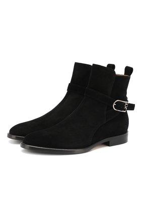 Замшевые ботинки Grace | Фото №1
