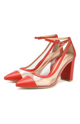 Комбинированные туфли Shannon 85 | Фото №1