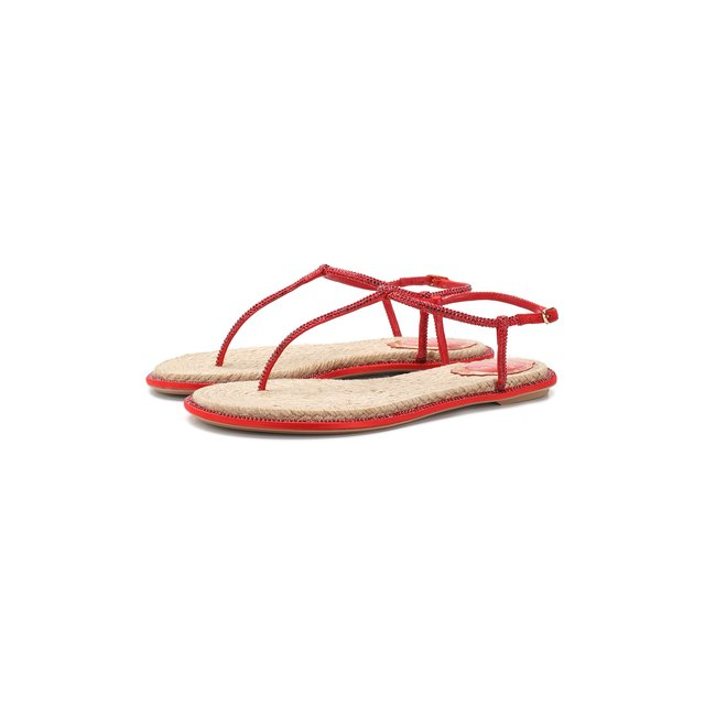 Кожаные сандалии Diana Rene Caovilla