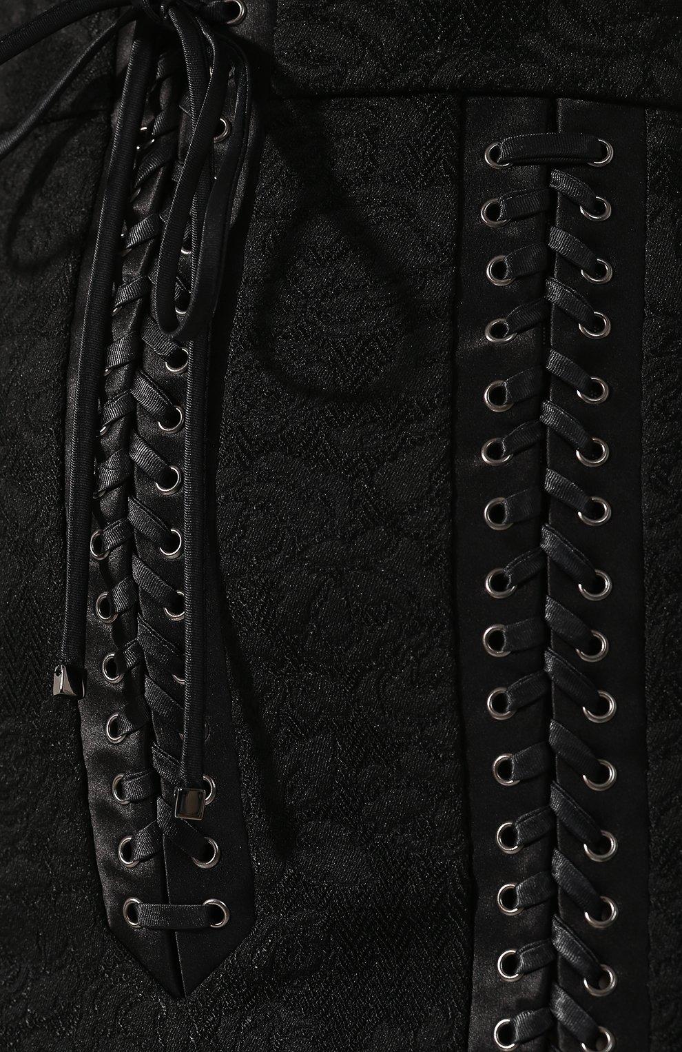 Юбка со шнуровкой | Фото №5
