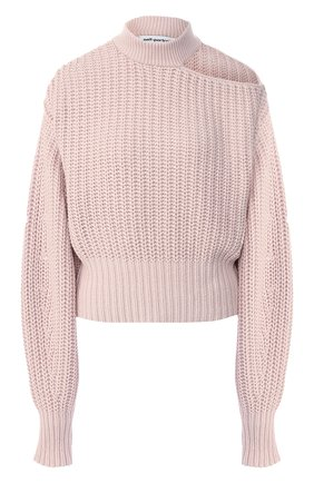 Пуловер из смеси хлопка и шерсти   Фото №1