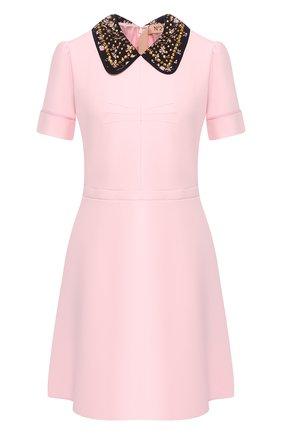 Платье с декоративным воротником | Фото №1