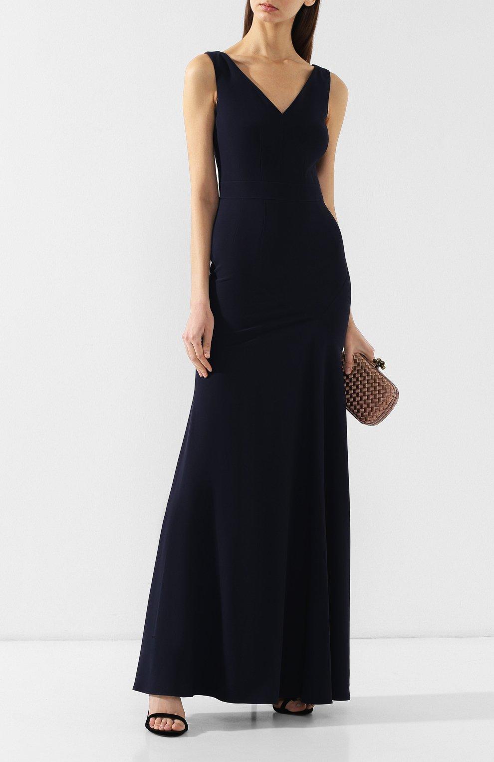 Приталенное платье-макси   Фото №2