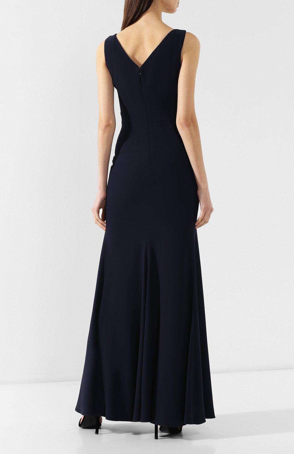 Приталенное платье-макси   Фото №4