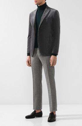 Мужской хлопковый пиджак BOTTEGA VENETA серого цвета, арт. 545777/VZMD0 | Фото 2