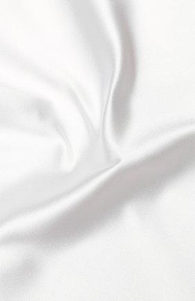 Мужской шелковый платок GIORGIO ARMANI белого цвета, арт. 360023/8P998 | Фото 2