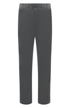 Мужской хлопковые брюки  BOTTEGA VENETA серого цвета, арт. 537988/VZMD0 | Фото 1