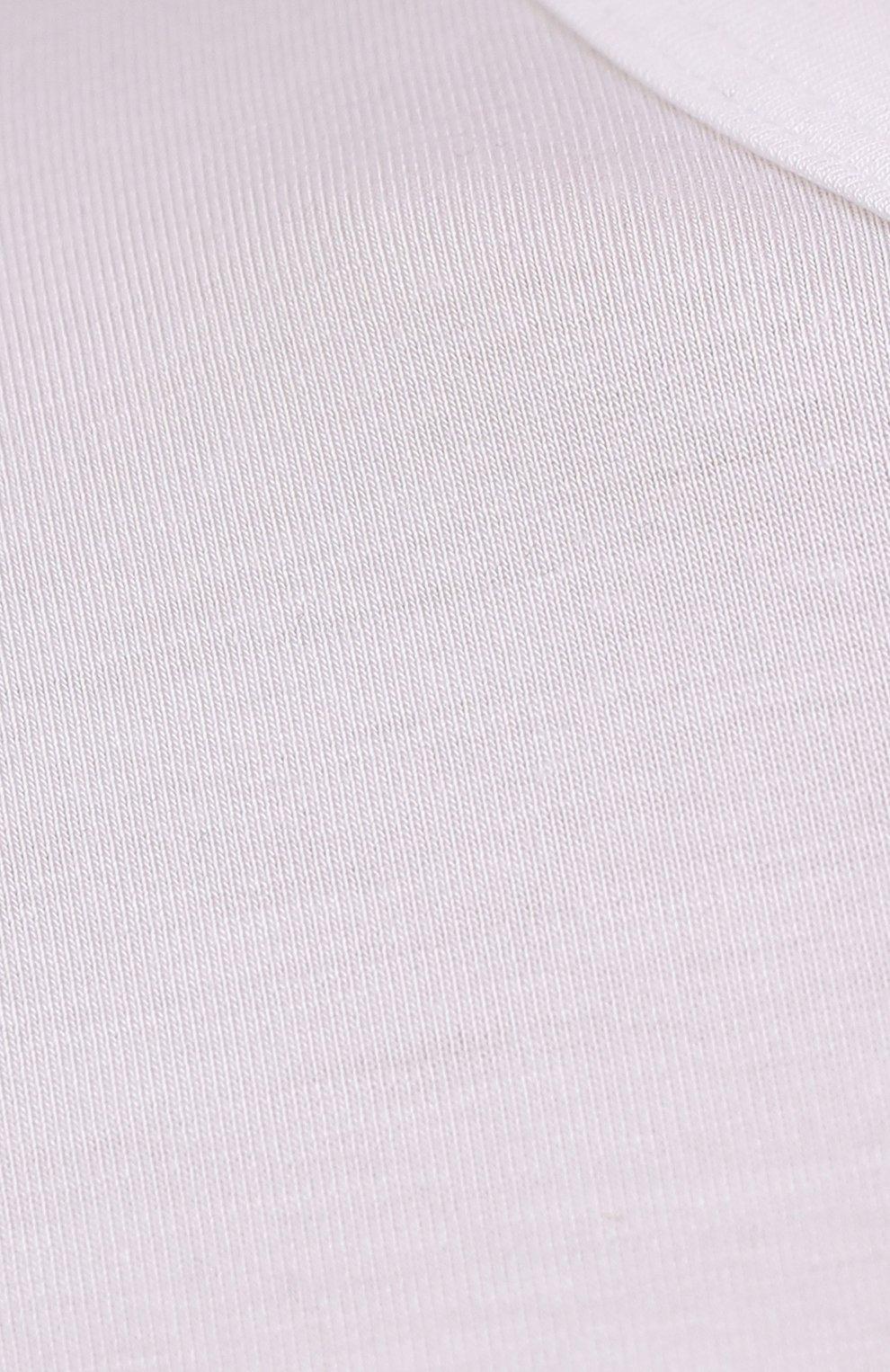 Мужская лонгслив из вискозы ZIMMERLI белого цвета, арт. 700-1350   Фото 5 (Рукава: Длинные; Кросс-КТ: домашняя одежда; Длина (для топов): Стандартные; Мужское Кросс-КТ: Футболка-белье; Материал внешний: Вискоза; Статус проверки: Проверена категория)