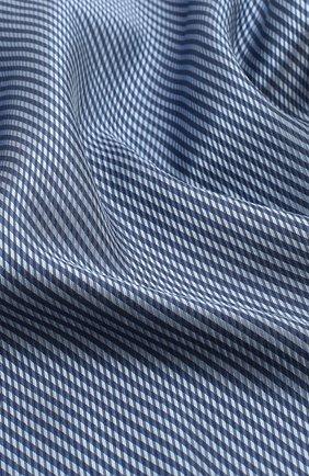 Мужской шелковый платок GIORGIO ARMANI синего цвета, арт. 360023/9P912 | Фото 2