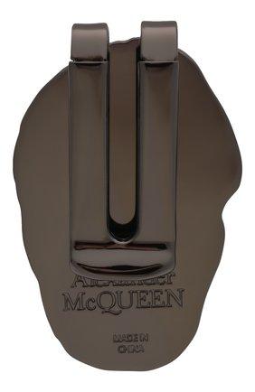 Мужской зажим для денег ALEXANDER MCQUEEN серебряного цвета, арт. 554705/J160R   Фото 2
