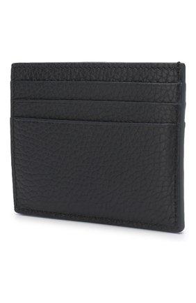 Мужской кожаный футляр для кредитных карт TOM FORD темно-синего цвета, арт. Y0233P-CP9 | Фото 2