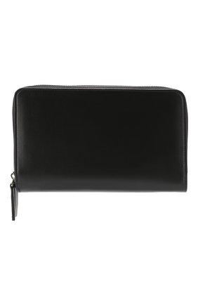 Мужская кожаный футляр для документов BRIONI черного цвета, арт. 0HRQ0L/07710 | Фото 1