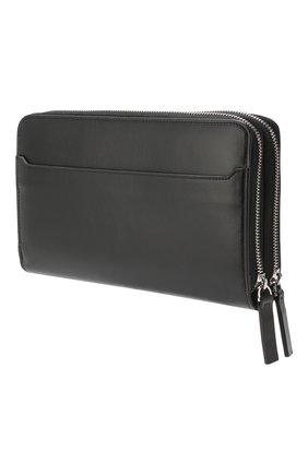 Мужская кожаный футляр для документов BRIONI черного цвета, арт. 0HRQ0L/07710 | Фото 2